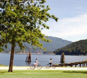 Burnaby Biking Outdoors at Burnaby Lake