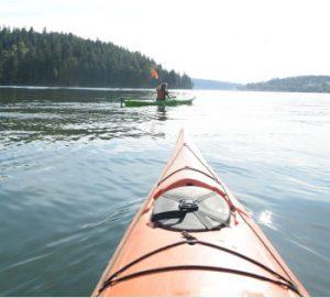 Burnaby Kayaking Barnett Marine Park