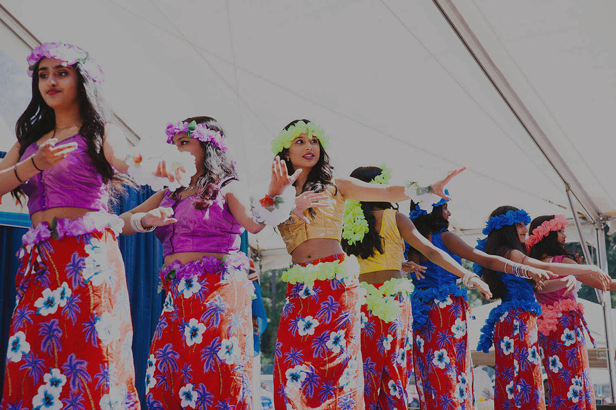Dancers at Fiji Festival in Burnaby, BC