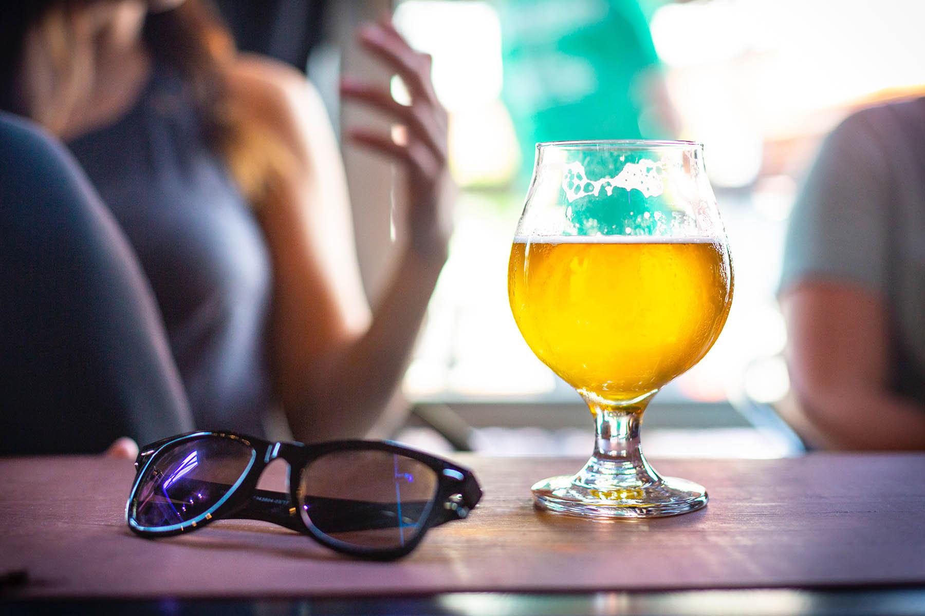 Summer beer in Burnaby